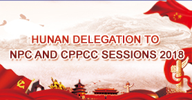 Hunan Delegation to NPC and CPPCC Sessions 2018.jpg