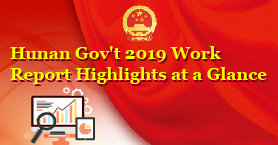 Hunan Gov't 2019 Work Report Highlights at a Glance.jpg
